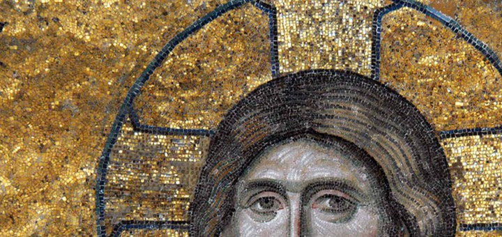 Hagiasophia Christ (Deesis mosaic).