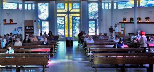Santa Maria al Romito's church, Pontedera, Sunday 11:30 am